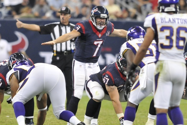 Houston Texans' Quarterback Controversy: A Case to Be Made for Case Keenum