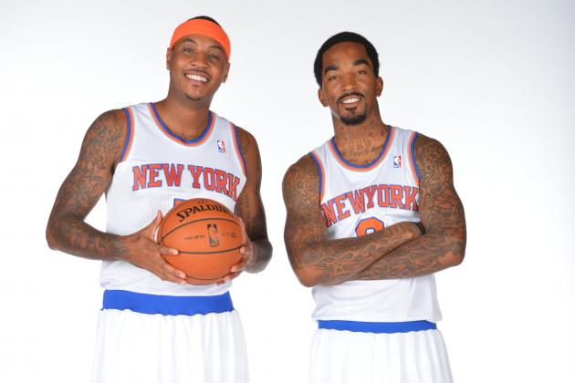 Melo Had 'Heart-to-Heart' with Knicks' Smith
