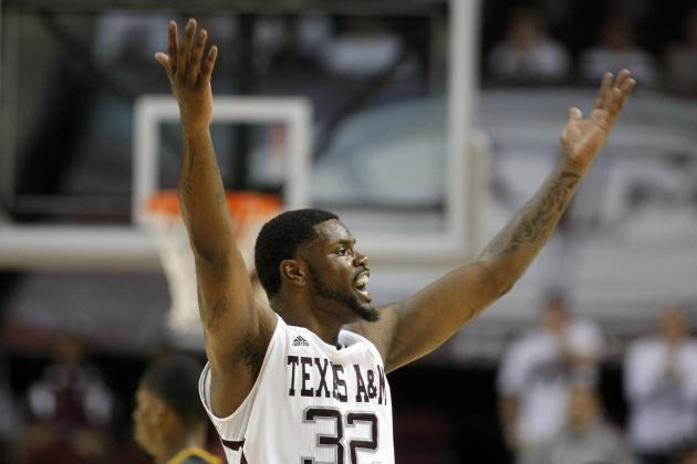 Aggies' Roberson Treated After Heart Rate Issue