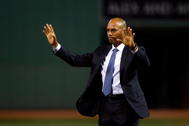 Mariano Rivera Given Historic Achievement Award Before Game 2 of World Series