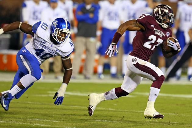 Mississippi St Holds on to Beat Kentucky 28-22