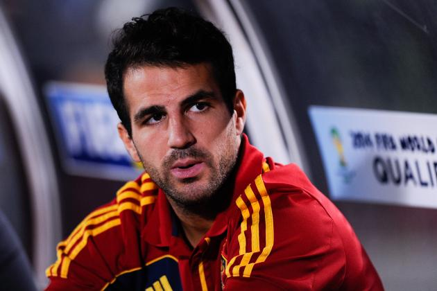 Cesc Fabregas Breaks Down Mesut Ozil, Jack Wilshere, Aaron Ramsey and More