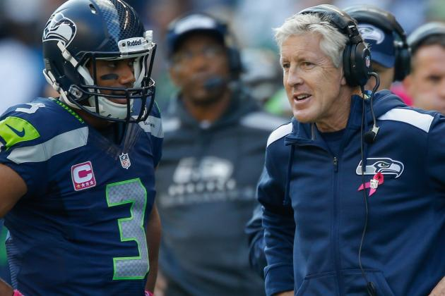 Pete Carroll Fine with Russell Wilson Taking Risks