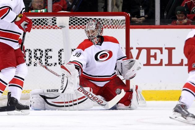 Cam Ward Injury Leaves Carolina Hurricanes Undermanned at Worst Time