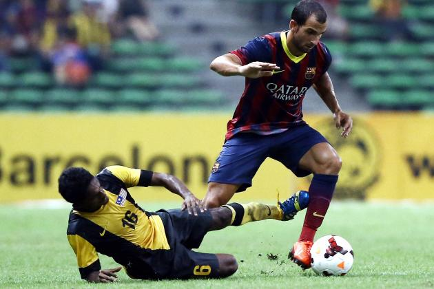 Martin Montoya Reportedly Interested in Transfer to Liverpool from Barcelona
