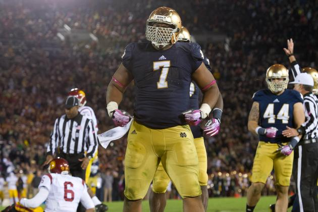 Tuitt Hungry to Make More Big Plays for Irish Defense