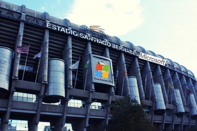 Bill Gates Wants Real Madrid to Play at the 'Santiago Bernabeu Microsoft'