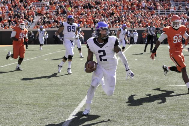Despite Struggles, TCU QB Trevone Boykin Could Be a Difference Maker vs. Texas