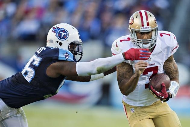 Akeem Ayers Fined $15,750 for Illegal Hit on 49ers' Colin Kaepernick