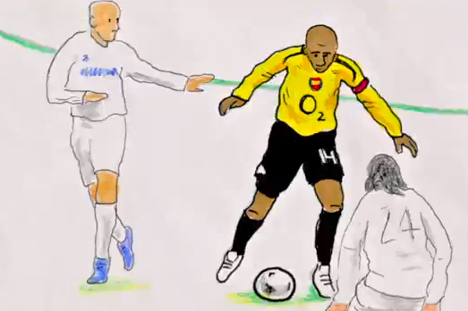 Amazing Thierry Henry 'Flipbook' Depicts French Legends Glittering Career