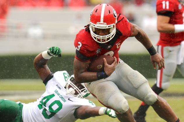 Richt 'Encouraged' by TB Gurley's Practice