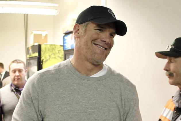 Brett Favre-St. Louis Rams Connection 'just a Joke'