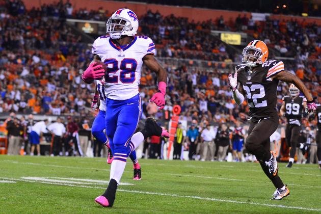 Buffalo Bills Would Be Wise to Take Things Slow with Injured C.J. Spiller