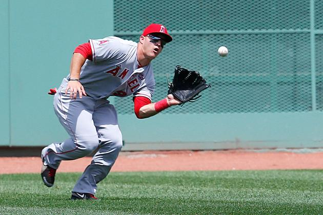 Mike Trout and Biggest Snubs for 2013 Gold Glove Award