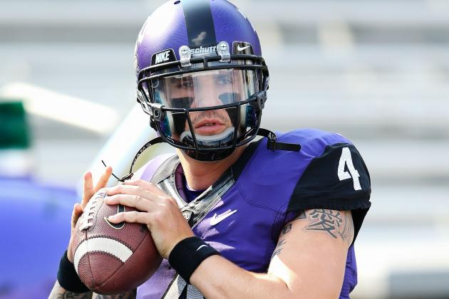 Horned Frogs QB Pachall to Return vs. Texas