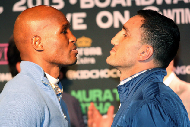 Hopkins vs. Murat Weigh-In