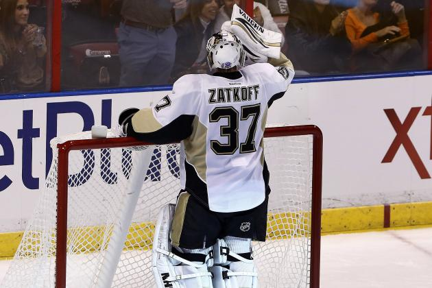 Penguins' Jeff Zatkoff Gets Second Start This Weekend