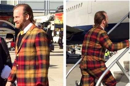 Ryan Dempster Wins Sartorial Silliness Award with Audacious Plaid Suit