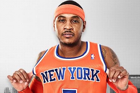 Knicks Unveil New, Very Orange Alternate Jerseys