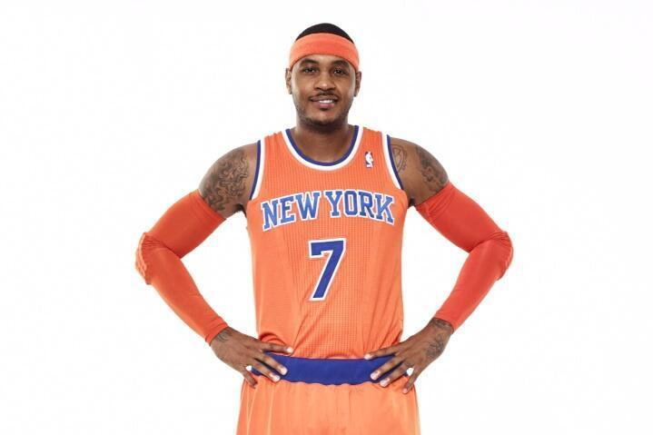 New York Knicks Unveil Alternate Orange Uniform