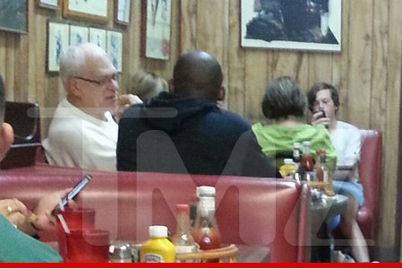 TMZ: Kobe and Phil Share a Breakfast Date