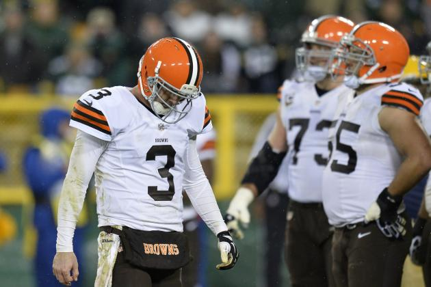 Brandon Weeden Taking '100 Percent of the Responsibility' for Being Benched