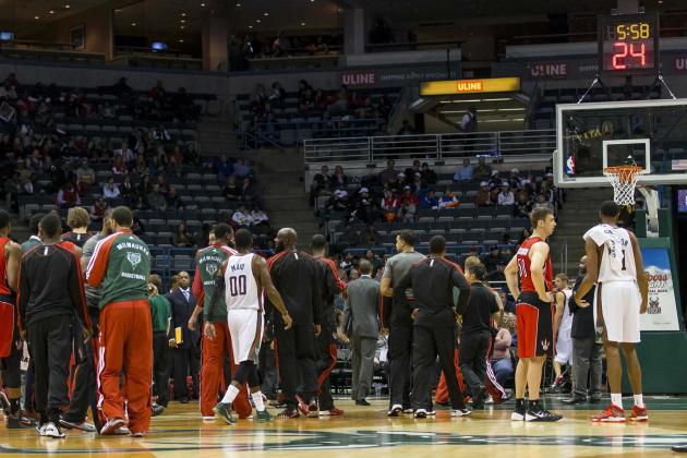 Bucks vs. Raptors Preseason Game Cancelled Due to Unsafe Playing Conditions