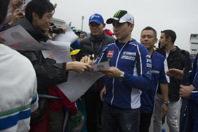 MotoGP of Japan 2013 Qualifying: Full List of Results and Times