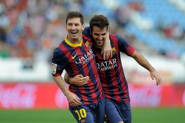 Cesc Fabregas Wasn't Interested in Manchester United and Is Happy at Barcelona