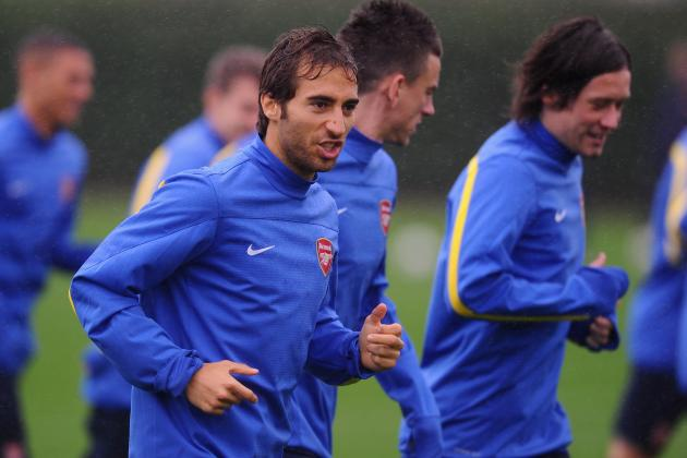 Mathieu Flamini Injury: Updates on Arsenal Star's Groin, Likely Return Date