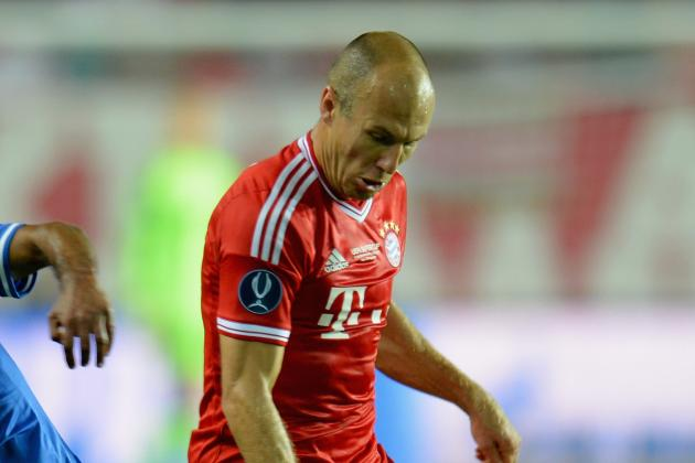 Robben, Kroos Come off in 1st Half