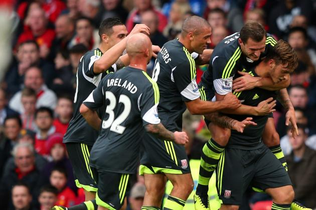 GIF: Marko Arnautovic Scores Superb Free-Kick but Manchester United Beat Stoke