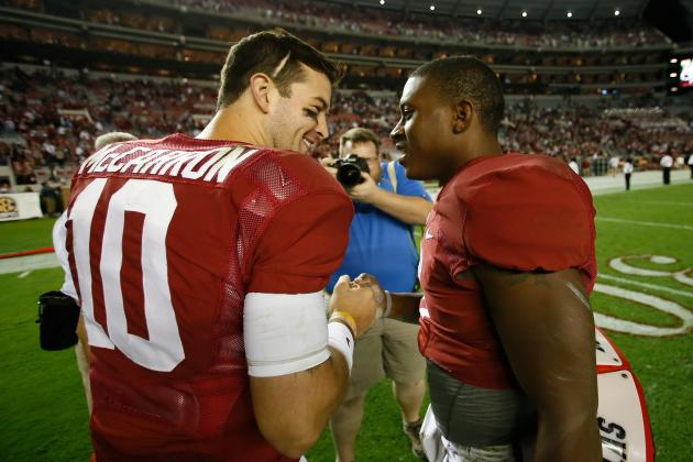 Tennessee vs. Alabama: Live Game Grades and Analysis for the Crimson Tide