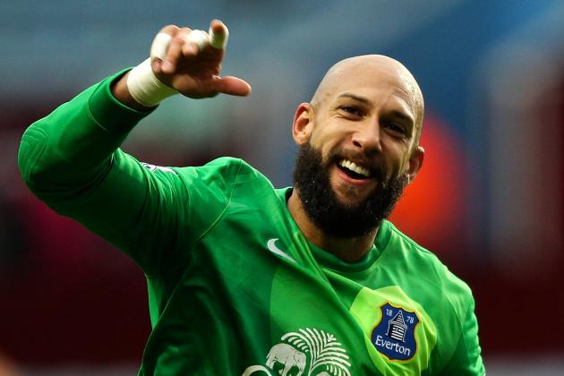 Tim Howard Saves Christian Benteke Penalty in Everton Win at Aston Villa