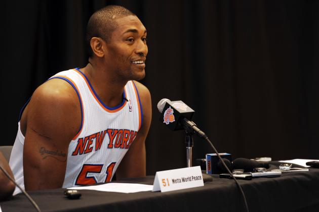 Metta World Peace Must Step Up as NY Knicks' Vocal Leader This Season