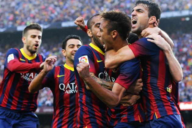 GIF: Neymar Scores in El Clasico Debut for Barcelona vs. Real Madrid