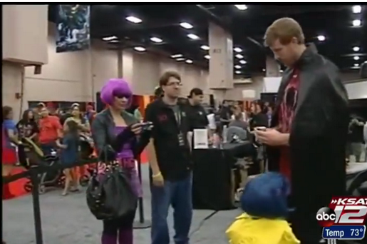 Spurs' Matt Bonner Breaks Out 'Red Mamba' Costume at the Alamo City Comic Con