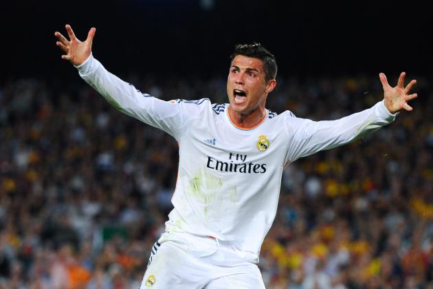 GIF: Cristiano Ronaldo Has Penalty Appeal Denied in El Clasico