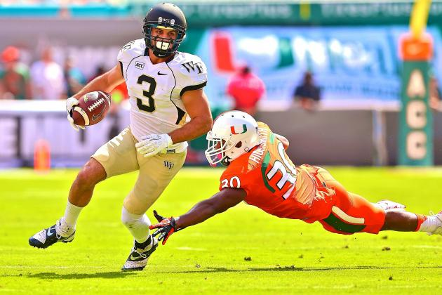 Wake Forest vs. Miami: Live Score and Highlights