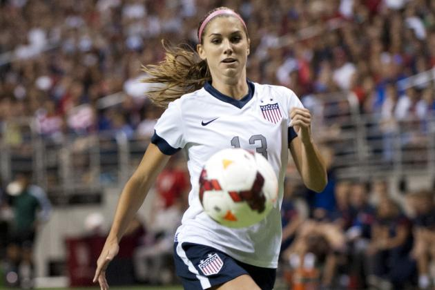 Alex Morgan out Sunday vs. New Zealand with Left Ankle Injury
