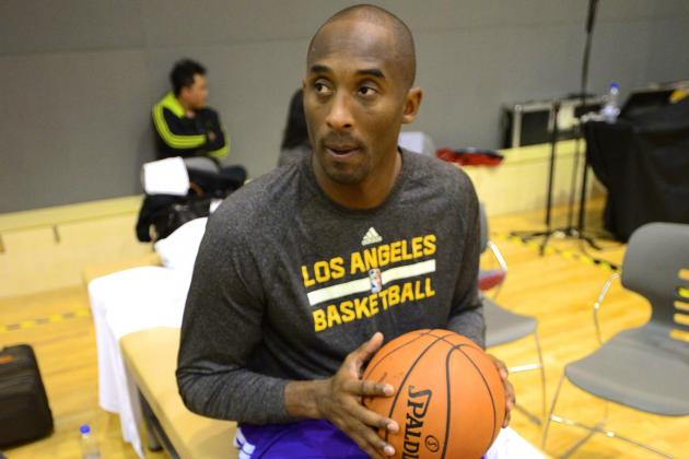 LA Lakers Fans Shouldn't Panic About Kobe Bryant Slowing Down Rehab Plan