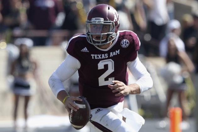 Johnny Manziel's Updated 2013 Heisman Outlook After Win vs. Vanderbilt