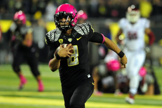 UCLA vs. Oregon: Marcus Mariota Faces Difficult Test Against Bruins Pass Defense