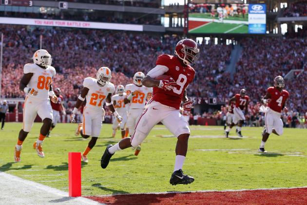 Tennessee vs. Alabama: Vols Improving, but Still Long Way from Top of SEC