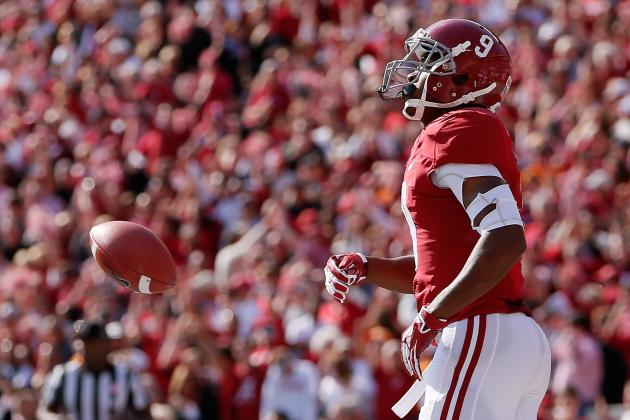 Alabama vs. Tennessee: AJ McCarron Finally Gets Amari Cooper Involved