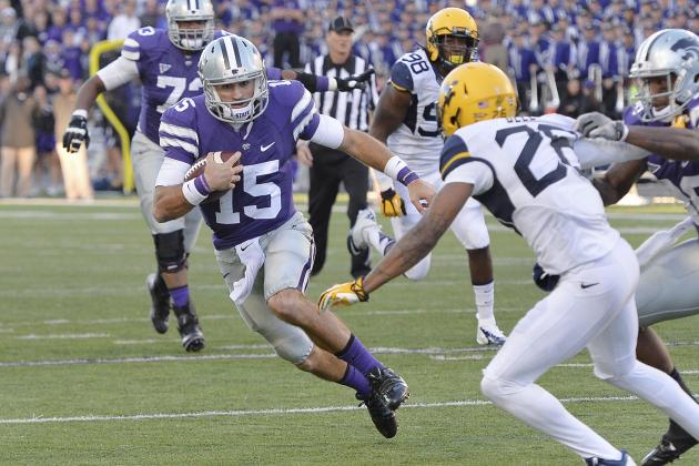 Kansas State QB Jake Waters Proves vs. WVU That He Should Be Full Time Starter