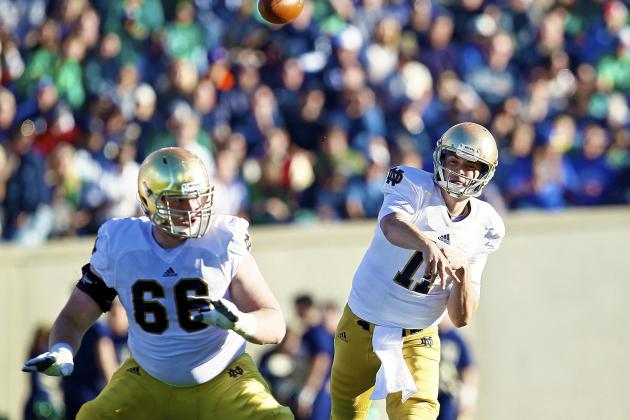 Notre Dame Football: Tommy Rees Finally Looking Ready for a BCS Bowl Run