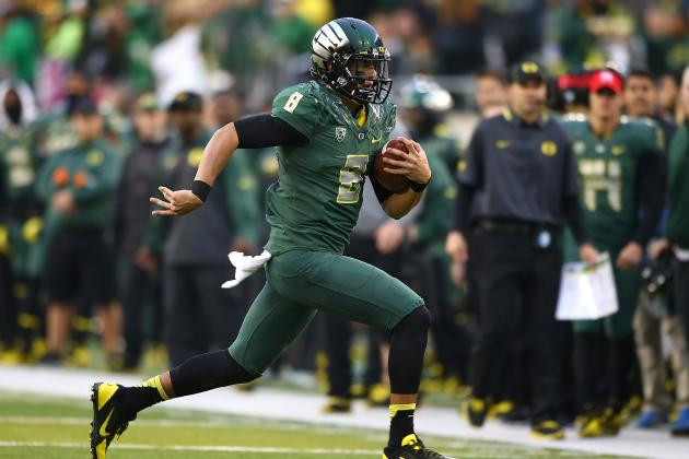 Marcus Mariota's Updated 2013 Heisman Outlook After Win over UCLA