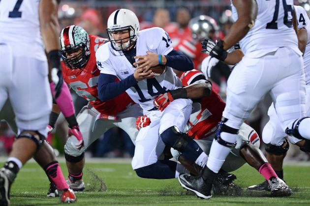 Penn State's Jekyll-and-Hyde Season Continues as Ohio State Exposes Hackenberg