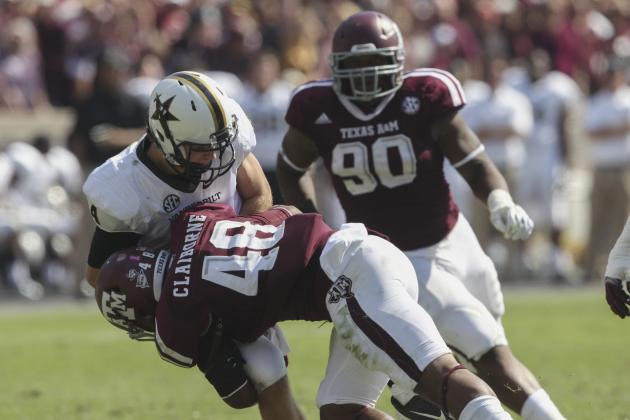 Texas A&M Defense Finally Plays a Complete Game, Can It Keep It Up?